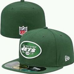 best cheap ca792 c5dfa New Era New York Jets 59Fifty On Field Green NFL Football Fitted Hat 7 1 4  886614824016   eBay