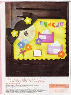 Artesanato com amor...by Lu Guimarães: Revista Arte com as mãos EVA n 26 School, Frame, Bible Activities For Kids, Kids Ministry, Colors, Craft, Ideas, Club, Children Pictures