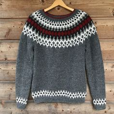 Ravelry is a community site, an organizational tool, and a yarn & pattern database for knitters and crocheters. Icelandic Sweaters, Knitted Beret, Sweater Knitting Patterns, Pullover, Ravelry, Free Pattern, Knit Crochet, Sewing, Inspiration