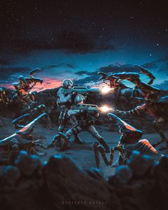 Starship Troopers Bugs, Space Soldier, Terror Movies, The Bigbang Theory, Greek Culture, Alien Vs Predator, Dead Space, Alien Creatures, Science Fiction Art