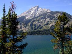 Jenny Lake in Grand Teton National Park is one of the places where my heart resides.