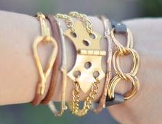 DIY Hinge Bracelet