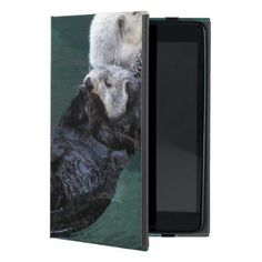 Bathing Sea Otters Photo iPad Mini Case - photography gifts diy custom unique special