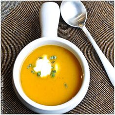 Verses from my Kitchen: Puréed Squash and Pear Soup