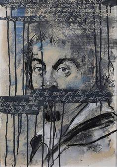 "Saatchi Art Artist Ulku Yilmaz; Painting, ""Caravaggio"" #art"