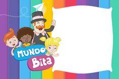 convite Mundo Bita Birthday Balloon Decorations, Halloween Invitations, Gabriel, Aurora, Safari, Balloons, 30, Lucas 2, Jack 2