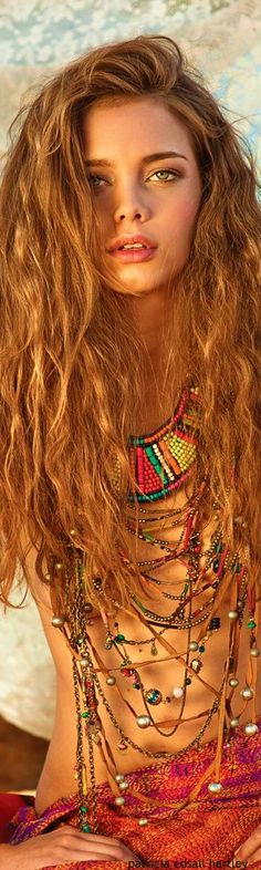 •≫∙∙☮ Bohème вαвє ☮∙∙≪• ❤️ вαвz ✿ιиѕριяαтισи❀ #abbigliamento #bohojewelry #bohocolorfulsoul