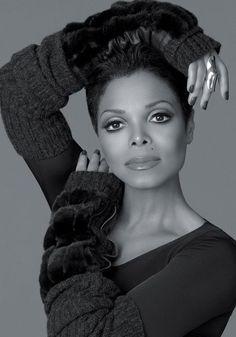 Janet Jackson for Blackgama