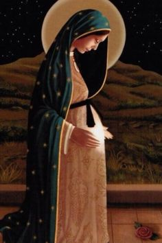 .How beautiful is our Blessed Mother Mary!~                                                                                                                                                     More