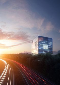 RIVM & CBG   Felix Claus Dick Van Wageningen Architecten, H+N+S Landschapsarchitecten, OTH Architecten, Wax Architectural Visualizations & Peter De Man; Visualization: bmd   Archinect