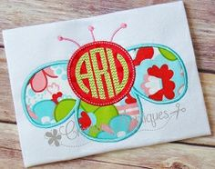 Funky Flower Monogram Applique - 4 Sizes! | What's New | Machine Embroidery Designs | SWAKembroidery.com Creative Appliques