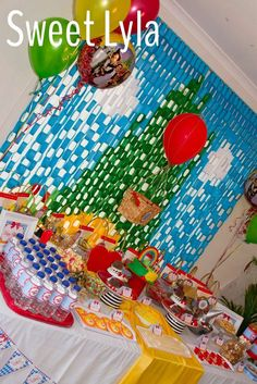 Wizard of Oz birthday party! See more party ideas at CatchMyParty.com!
