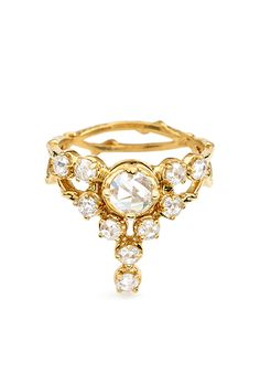 Brides: Unique Engagement Ring Settings | Engagement Rings | Engagement | Brides.com | Wedding Engagement