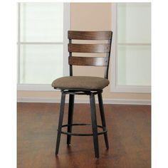 United Furniture Hudson Counter Height Swivel Stool - 5302-55