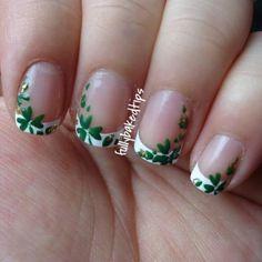 st.patrick's day nails   St. Patrick's Day nails