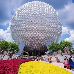 Pin for Later: 39 Disney World Facts That Even Die-Hard Fans Don't Know Epcot's Spaceship Earth installment weighs 16 million pounds. Disney World Facts, Disney World Trip, Disney Parks, Disney Pixar, Spaceship Earth, Have Courage And Be Kind, Die Hard, Epcot, Wonders Of The World