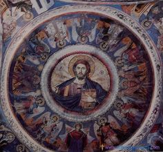 During my 14 year process of conversion to Eastern Orthodoxy, I often looked upon and yearned for the Orthodox Church as if it wer. Fresco, Byzantine Icons, Ikon, Old Friends, Wall Murals, Jesus Christ, Christianity, Painting, Alchemy