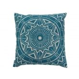 Cut out cushion cover in black or blue. Christmas in #htfstyle