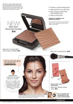 Mary Kay® contouring essentials! These bronzing powders help sculpt and create the perfect sun kissed look!
