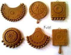 How To Bake Terracotta Clay Jewelry From Home - Life Chilli  http://www.lifechilli.com/bake-terracotta-clay-jewelry-home/