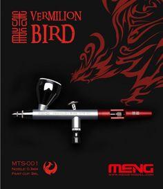 Boxart Vermilion Bird 0.3mm Airbrush w/9ml Cup MTS-001 Meng Model