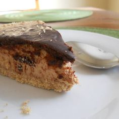 Peanut Butter Cup Cheesecake | Made Just Right by Earth Balance #vegan #Plantbased #earthbalance #recipe #cheesecake