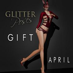 GLITTER POSES GIFT APRIL | by Glitter Fashion