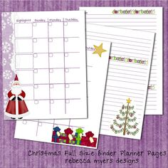 Items similar to Basic Set 2 Compact Personal Planner Pages for Filofax, Franklin Covey, Day Runner and More on Etsy Printable Planner Pages, Planner Book, Planner Ideas, Free Printables, Holiday Ideas, Christmas Ideas, Christmas Crafts, Franklin Covey Planner, Day Runner