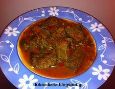 Όλα για τη δίαιτα Dukan Palak Paneer, Thai Red Curry, Low Carb, Beef, Ethnic Recipes, Food, Low Carb Recipes, Meat, Essen