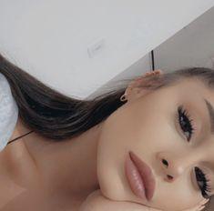 Image about instagram in ariana grande by dear society Ariana Grande Selfie, Ariana Grande Makeup, Ariana Grande Cute, Ariana Grande Pictures, Ariana Grande Eyebrows, Ariana Grande Tumblr, Ariana Tour, Cat Valentine, Ariana Instagram
