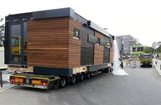 Container Home Designs, Shipping Container Design, Cargo Container Homes, Container Buildings, Container Architecture, Prefab Cabins, Prefabricated Houses, Prefab Homes, Modular Homes