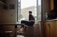Par la fenêtre by Cécile Jaillard on Flickr.