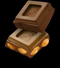 Chocolate con almendra