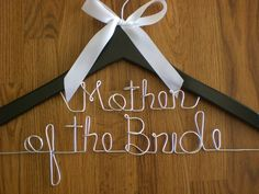 Personalized Hangers/ Mother of the Bride/Personalized Wedding Hanger/Personalized Custom Bridal Hangers/Weeding Hanger/Bride on Etsy, $17.95