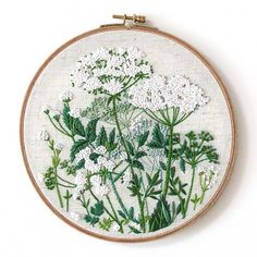 Millet #embroidery#embroideryart#art#artwork#exhibition#gallery#wallart#flower#illustration#plant#plants#flowers#stitch#stitches#handmade#Bordado#刺繍#fiberart