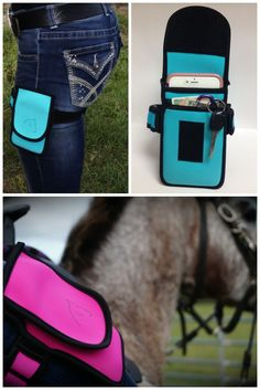 Mother's Day gifts for horse loving moms. The Horse Holster is a great pick for moms who love to ride! If she's like me, she has often run into the problem of where to keep her cell phone and other important things when she's on her horse. This problem is easily solved with the Horse Holster! It's got plenty of space for mom's cell phone, keys, ID, and other things that she needs to keep with her on her rides.