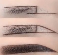 How to Paint Eyebrow Makeup Correctly J Makeup, Eyebrow Makeup Tips, Makeup Videos, Makeup Inspo, Makeup Inspiration, Beauty Makeup, Makeup Looks, Eyebrow Game, Eyebrow Tutorial