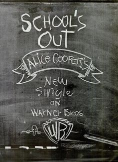 Alice Cooper School's Out Billboard Magazine. Vintage Advertisements, Vintage Ads, Mr Nice Guy, Double Entendre, Billboard Magazine, Music Sites, Feeling Inadequate, Alice Cooper, Rock Posters