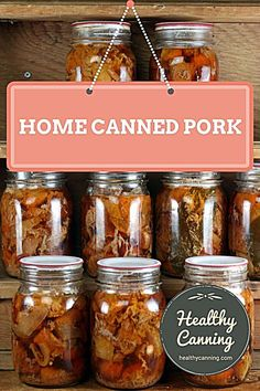 Canning pork - Healthy Canning Canning pork. Canning that pork is an economical way to store pork in a safe, quality form that is ready for instant use in a myriad of recipes, anything from curries to tajines to almost instant braised suppers. Home Canning Recipes, Canning Tips, Cooking Recipes, Canning Soup, Pressure Canning Meat, Pressure Cooker Recipes, Pressure Cooking, Pressure Cooker Chicken, Canned Meat