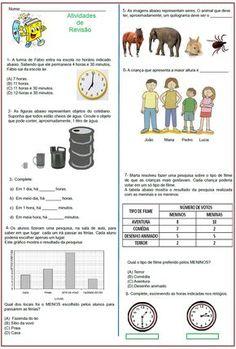 Atividades de Revisão – Matemática  |   Rérida Maria