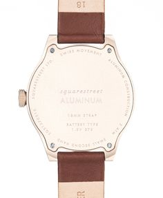 Squarestreet - SQ31 Aluminum Watch AS-02 - Hinten