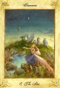 Llewellyn Tarot (by Anna-Marie Ferguson): XVII the Star