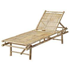 Liegestuhl aus Bambus von Lena Bjerre!