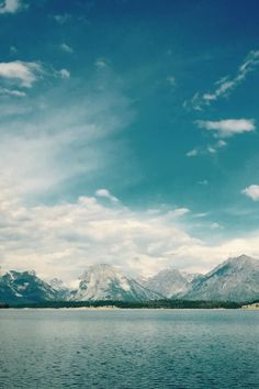 Free stock photo of sea, mountains, nature, sky