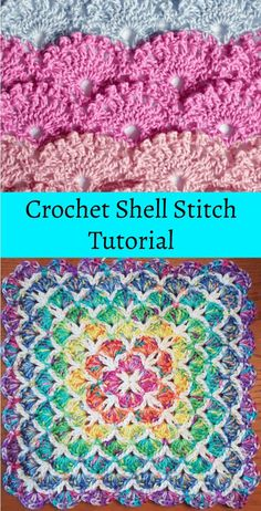 Crochet Shell Stitch Free Written Pattern And Video Tutorial Free Crochet Shell Stitch Tutorial. Click the link to access the FREE crochet stitch pattern and tutorial Crochet Afghans, Crochet Stitches Free, Tunisian Crochet, Afghan Crochet Patterns, Free Crochet, Stitch Patterns, Crochet Blankets, Crochet Shell Pattern, Crochet Shell Stitch