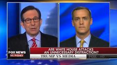 """Attacking CNN doesn't create jobs"" Chris Wallace DESTROYS Donald Trump ..."