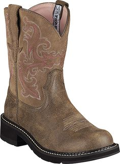 Ariat Fatbaby II Western Boot Style 8 Inch Women Shoes 10004730