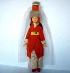 Collectible Doll Former USSR Souvenir Doll by GrandmasDowry