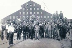 Chicago Lumbering Company Mill, Manistique, MI, 1876.