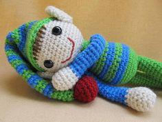 Ernie and Erline Elf Crochet Amigurumi Pattern by CraftyDebDesigns, $4.50